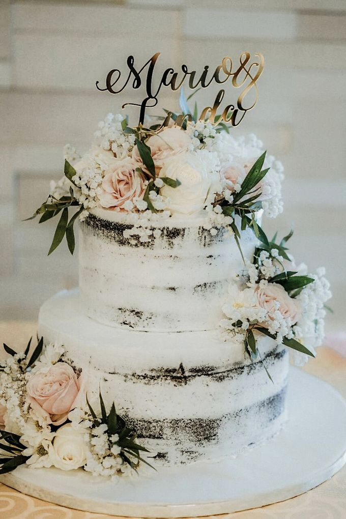 Two Tiers by Gordon Blue Cake - 008