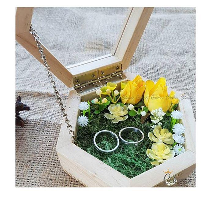 Hexa Box - Natural   Wedding Ring Bearer Box Indonesia - Celemor by Celemor - 004