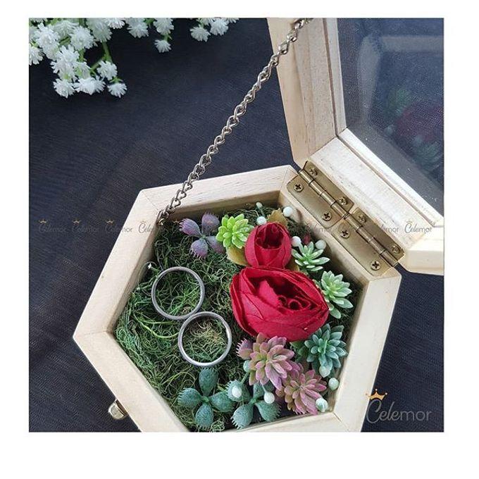 Hexa Box - Natural   Wedding Ring Bearer Box Indonesia - Celemor by Celemor - 002