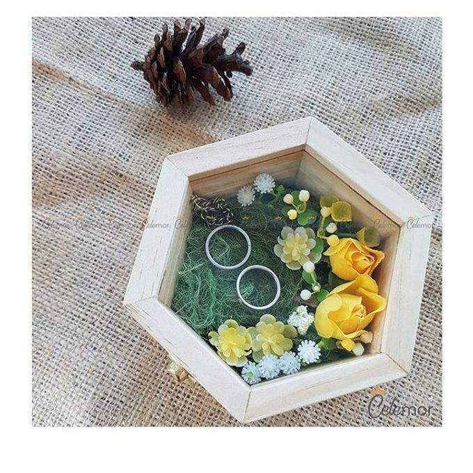 Hexa Box - Natural   Wedding Ring Bearer Box Indonesia - Celemor by Celemor - 005