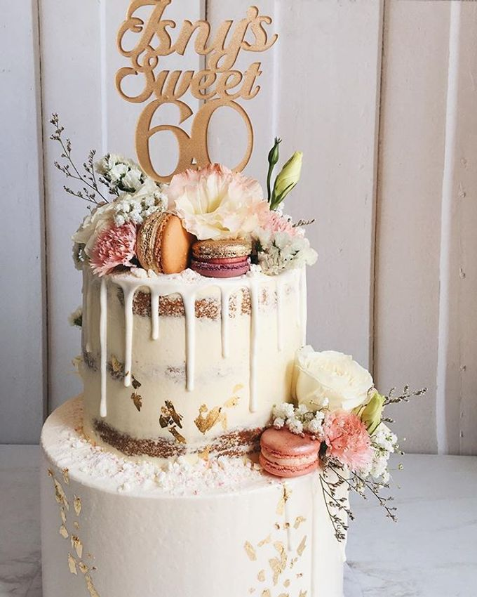 2 tiers Celebration Cake (Wedding, Birthdays, etc) by duchess bakes - 008