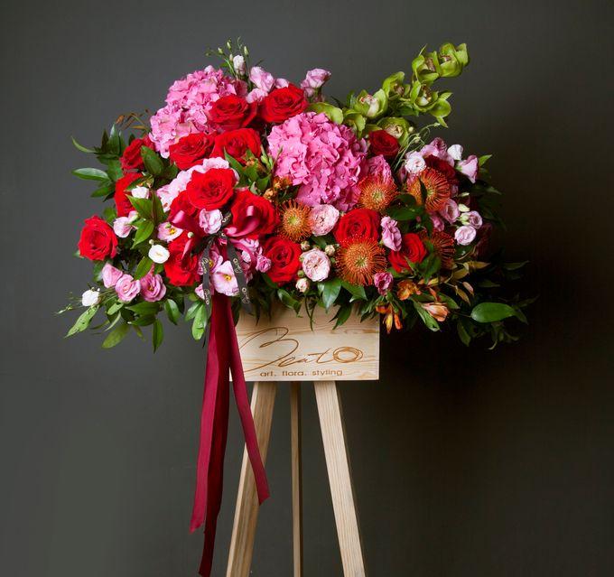 Flora stand Styling - celebration by Beato - 002