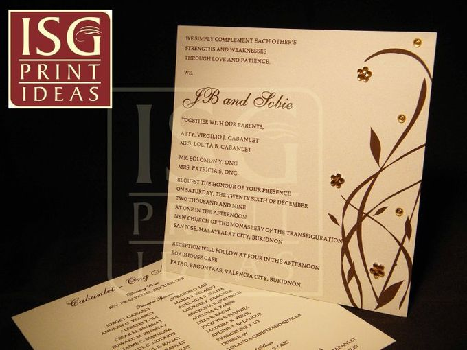 Weddings Chic and Fancy by ISG Print Ideas - 007