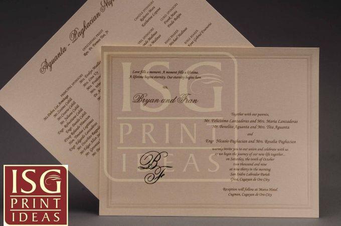 Wedding Formal Invitation by ISG Print Ideas - 003