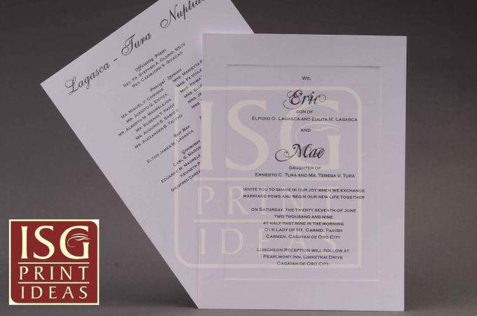 Wedding Formal Invitation by ISG Print Ideas - 005