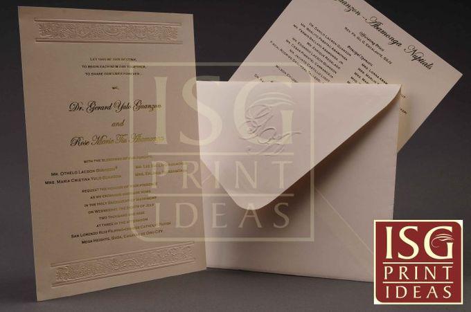 Wedding Formal Invitation by ISG Print Ideas - 006