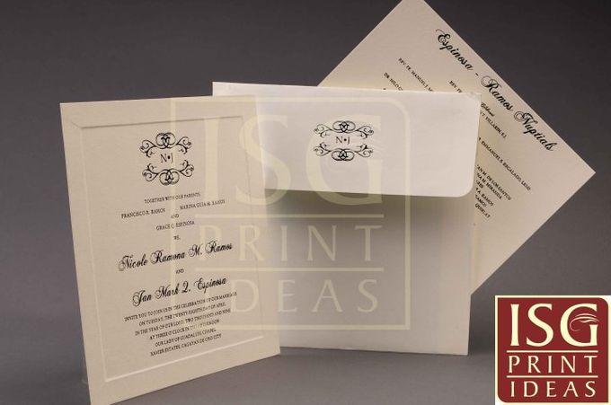 Wedding Formal Invitation by ISG Print Ideas - 007