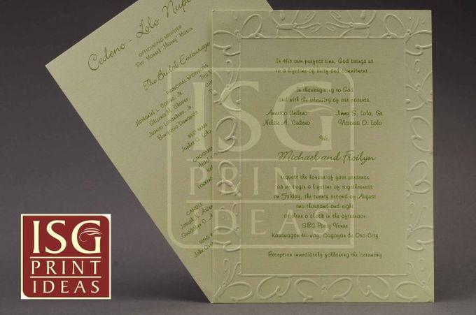 Wedding Formal Invitation by ISG Print Ideas - 008