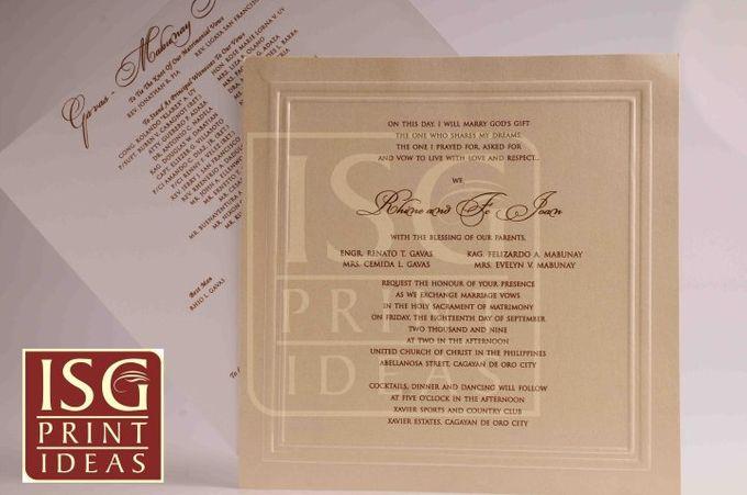 Wedding Formal Invitation by ISG Print Ideas - 009