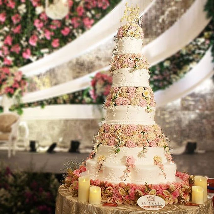 Wedding Cake Customize Design by RR CAKES - 010