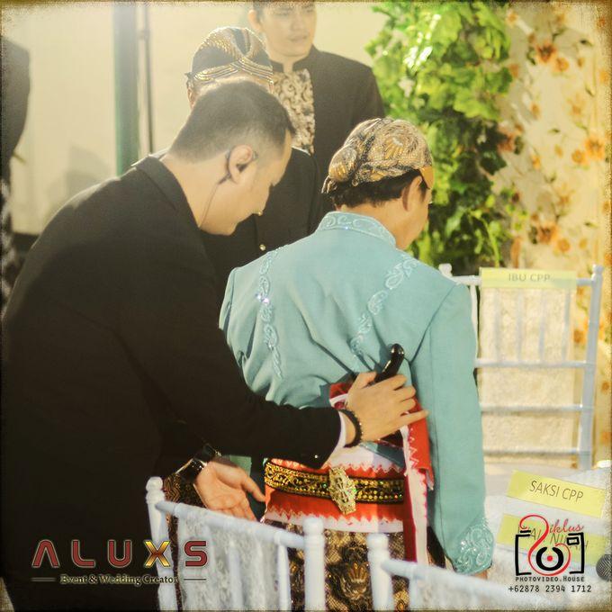 The Wedding of Santa & Khresna by Alux's Event & Wedding Creator - 021
