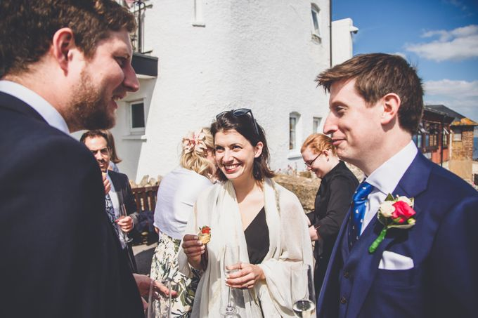 Clare and Ben's Marine Theatre wedding, Lyme Regis by Andrew George Photography - 030