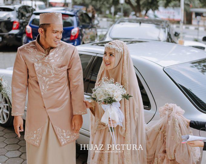 Inez Ayu Fadhli Resepsi Pernikahan By Dinda Firdausa Kebaya
