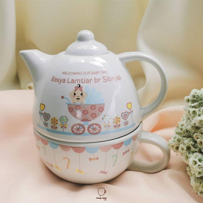 TEKO SUSUN BABY BORN by Mug-App Wedding Souvenir - 002