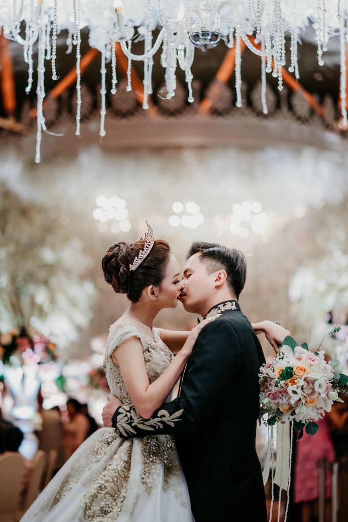 The Wedding of Leon & Audrey by Hotel Indonesia Kempinski Jakarta - 030