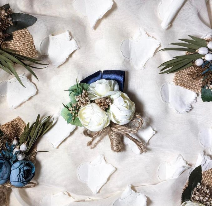 Boutonniere & Corsage by Rose For You - 031