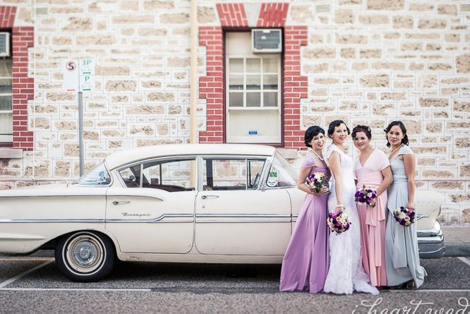 Bridal Party by I Heart Weddings - 001