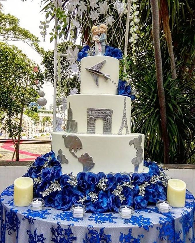 Wedding Cake Customize Design by RR CAKES - 011