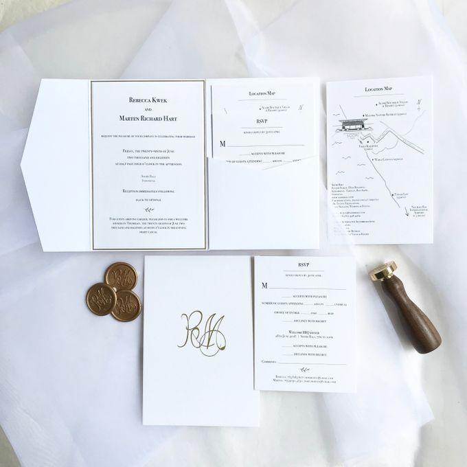 Clean Classic | Marten & Rebecca by dora prints and paper goods - 001