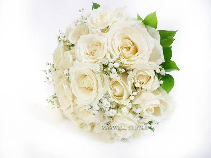 Fresh Wedding Bouquet by Maxwell Flowers - 002
