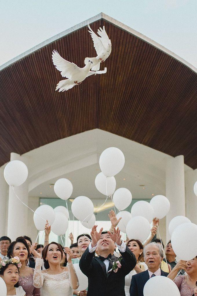 Wedding of Vina & Simon by Hilton Bali Resort - 014