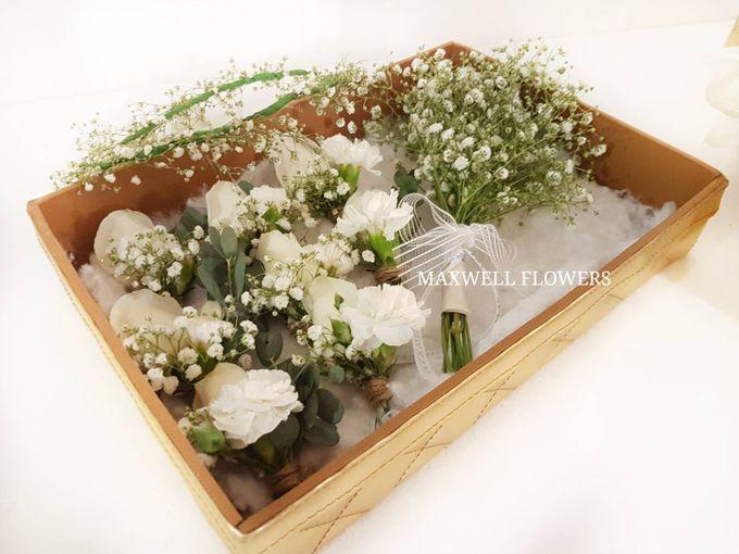 Fresh Wedding Bouquet by Maxwell Flowers - 003