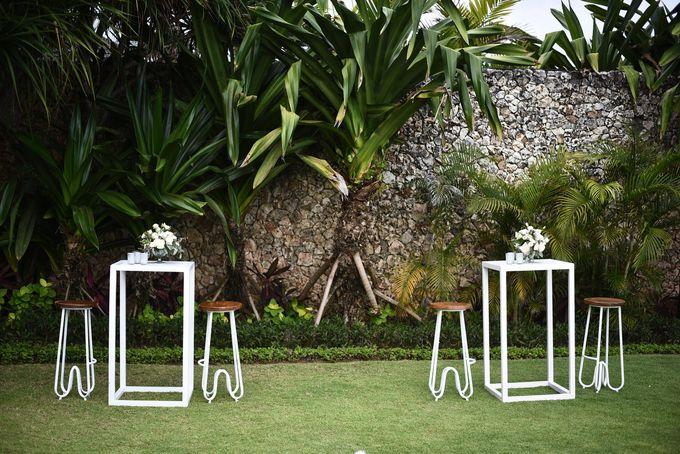 CA & Sebastian Wedding by THE UNGASAN CLIFFTOP RESORT BALI - 007