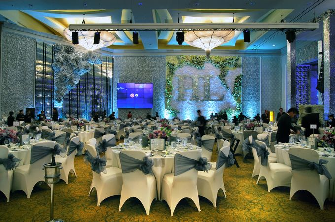 Silver Wedding Anniversary Ritz Carlton Pacific Place Jakarta by Suryanto Decoration - 001