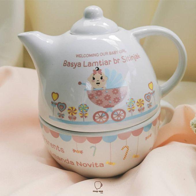 TEKO SUSUN BABY BORN by Mug-App Wedding Souvenir - 003