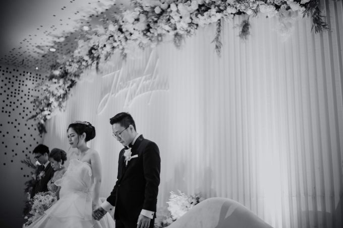 Lady & Julianto Wedding at Le Meridien Jakarta by AKSA Creative - 032