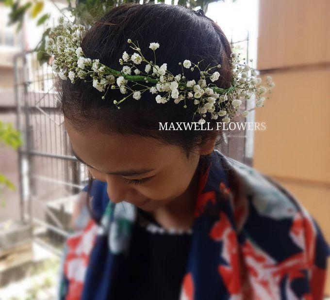 Fresh Wedding Bouquet by Maxwell Flowers - 005