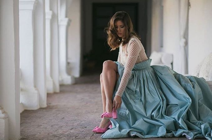 COMFORTABLE WEDDING AND OCCASION SHOES by SILVIA LAGO by SILVIA LAGO - 011