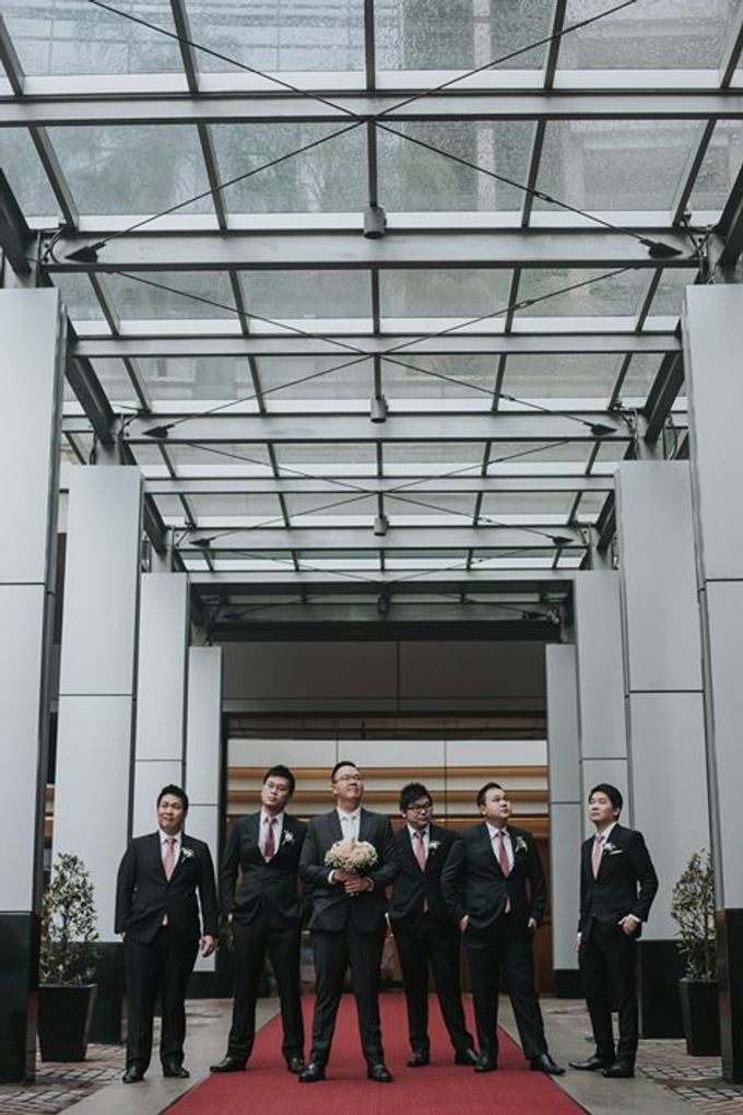 Rio & Metia Wedding Day by Wong Hang Distinguished Tailor - 004