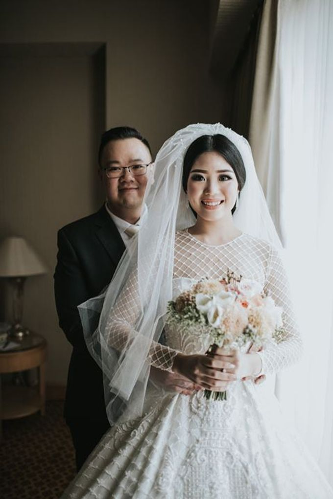 Rio & Metia Wedding Day by Wong Hang Distinguished Tailor - 008