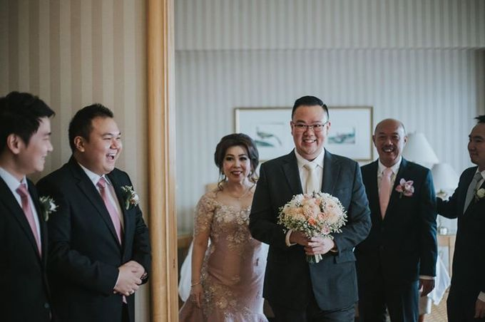Rio & Metia Wedding Day by Wong Hang Distinguished Tailor - 003