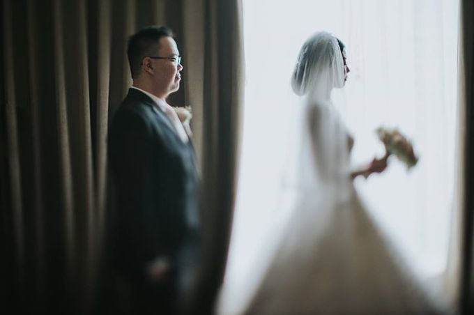 Rio & Metia Wedding Day by Wong Hang Distinguished Tailor - 006
