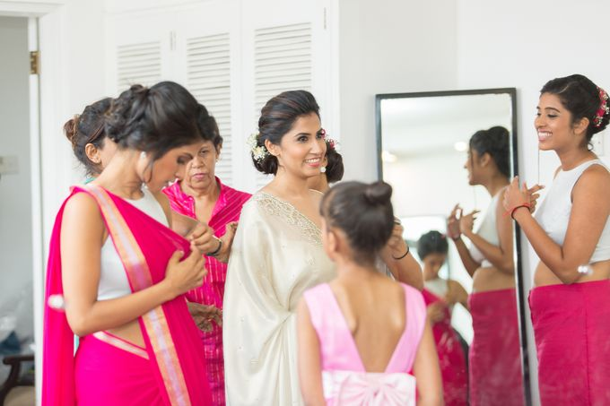 Wedding of Roshani & Charith by DR Creations - 015