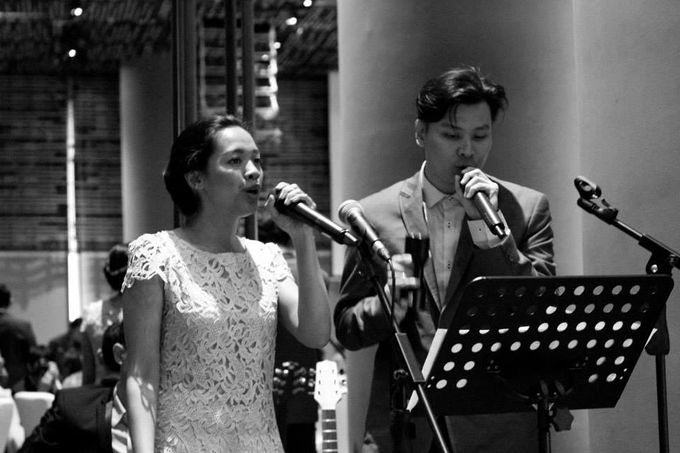 Tag Team with Church Band in Park Royal Pickering - Andy Tamara & Martha Margaretha Lim Wedding by Ring of Blessings - 006