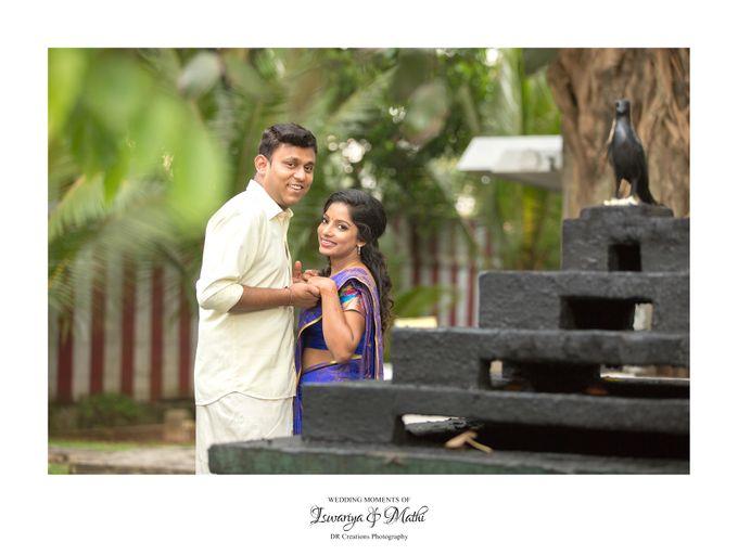 Wedding of Ishwariya & Mathi by DR Creations - 032