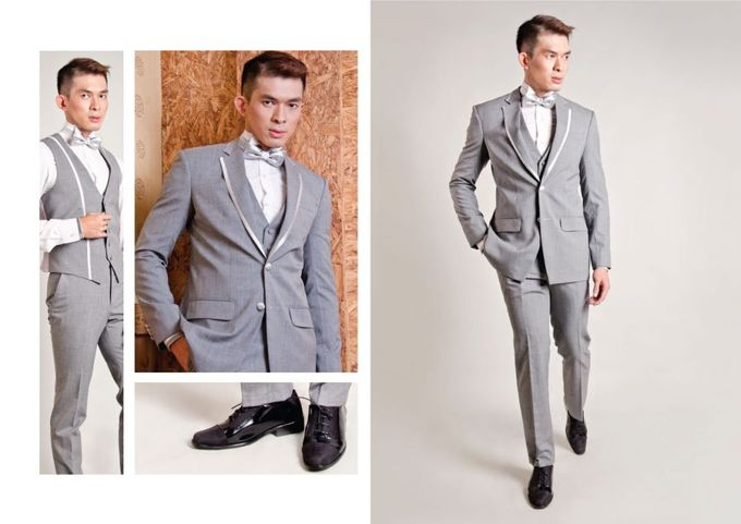 Silver Point by Philip Formalwear - 003