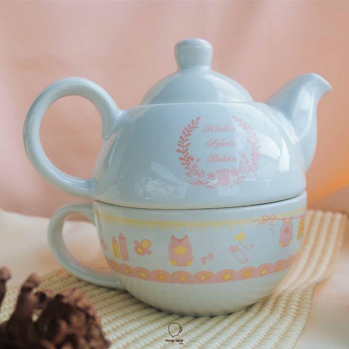 TEKO SUSUN BABY BORN by Mug-App Wedding Souvenir - 004