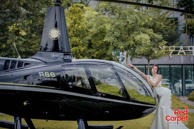 Pre Wedding Photo Shoot (HELICOPTER) by RedCarpet Bridal Artistry - 004