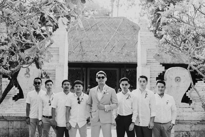 Ana Octarina & Adie Baron - Wedding Day - Tirtha Bridal by Open Quarter Tailor - by Brillington Brothers - 007