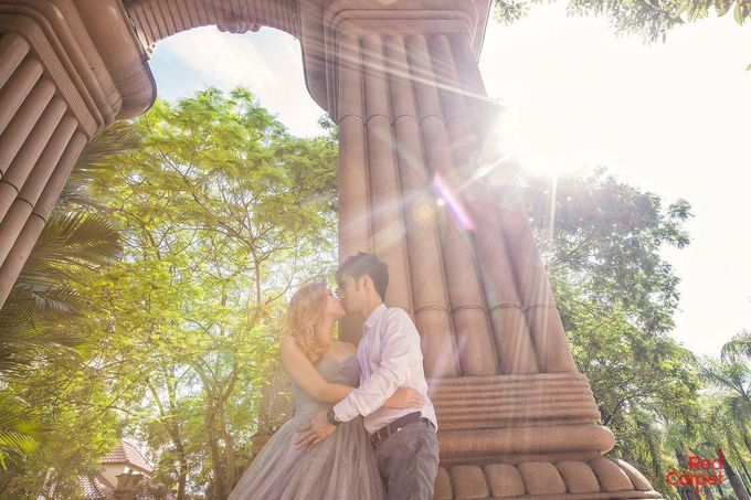 Outdoor Pre Wedding Photo Shoot by RedCarpet Bridal Artistry - 009