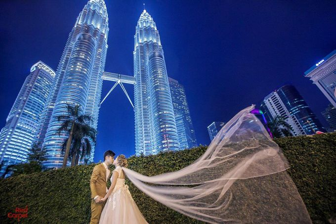Outdoor Pre Wedding Photo Shoot by RedCarpet Bridal Artistry - 006