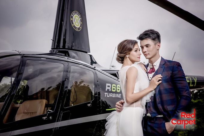 Pre Wedding Photo Shoot (HELICOPTER) by RedCarpet Bridal Artistry - 003