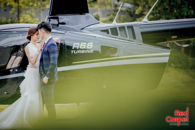 Pre Wedding Photo Shoot (HELICOPTER) by RedCarpet Bridal Artistry - 005