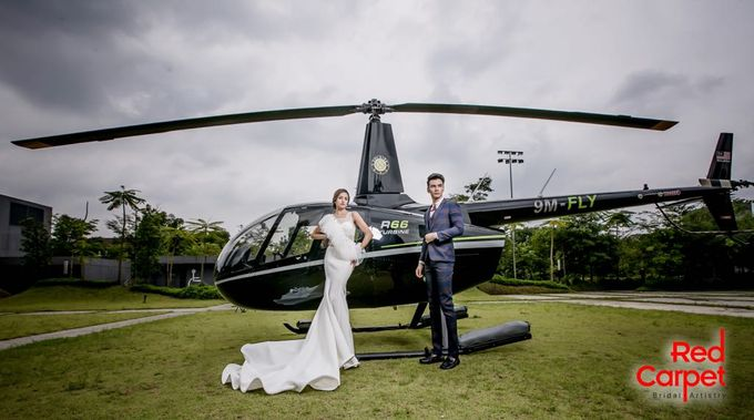 Pre Wedding Photo Shoot (HELICOPTER) by RedCarpet Bridal Artistry - 002