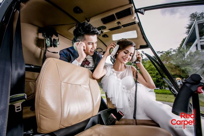 Pre Wedding Photo Shoot (HELICOPTER) by RedCarpet Bridal Artistry - 001
