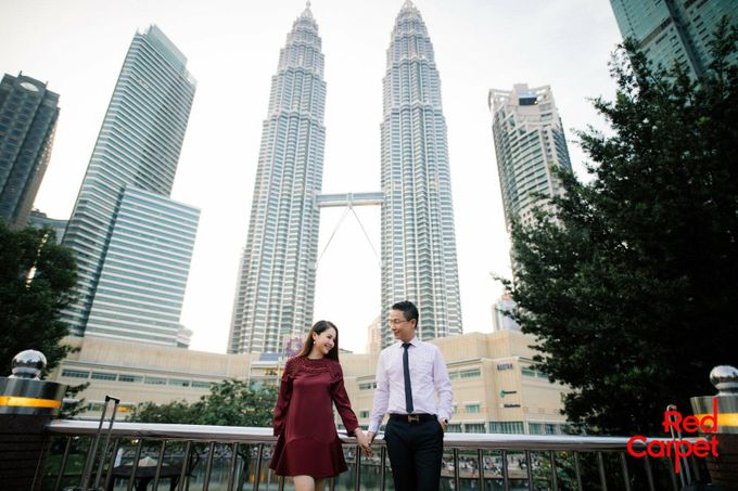Outdoor Pre Wedding Photo Shoot by RedCarpet Bridal Artistry - 005